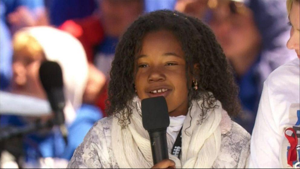 VIDEO: Yolanda Renee King spoke at the rally in Washington, D.C.