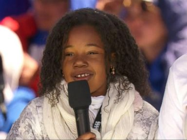 WATCH:  MLK's young granddaughter excites crowd at March for Our Lives