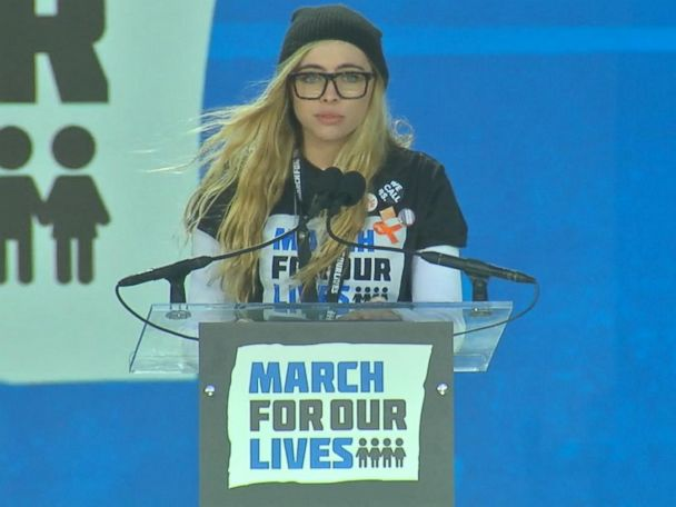 WATCH:  Student issues warning to NRA at March for Our Lives rally