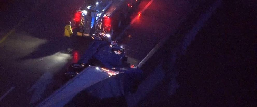 VIDEO: The accident happened on a roadway in South Strabane Township, Pennsylvania.