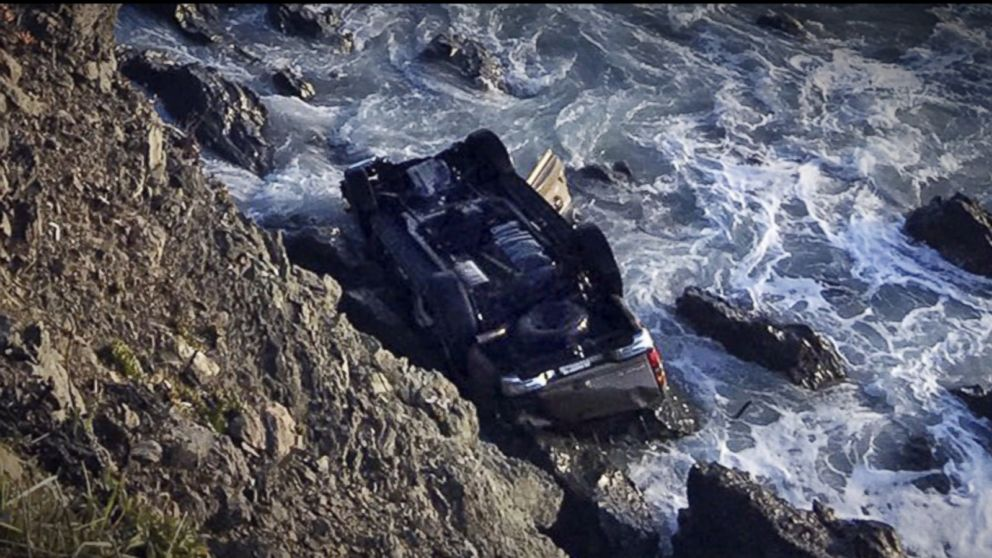 SUV's plunge off cliff that killed California family may have been