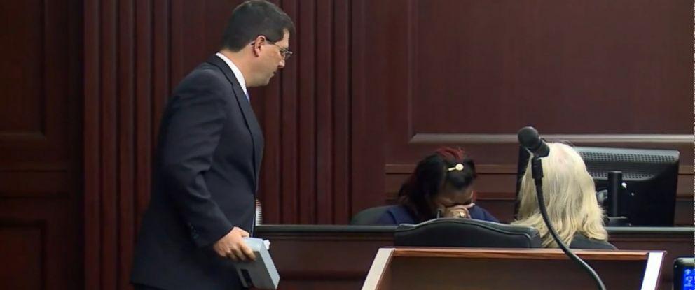 VIDEO: Shanara Mobley testified at the sentencing hearing for Gloria Williams.