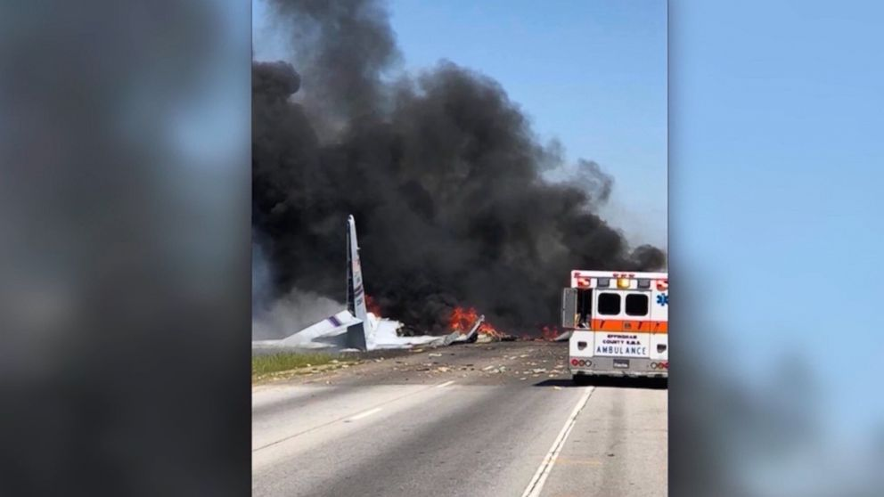 Georgia police release 911 calls from deadly military plane