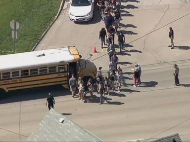 WATCH: Dixon High School shooting suspect in jail