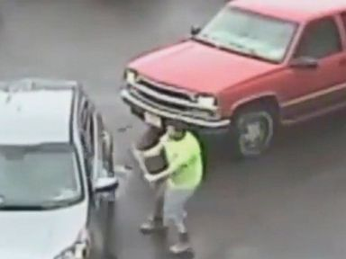 WATCH:  Man wanted for attacking an SUV with sledgehammer