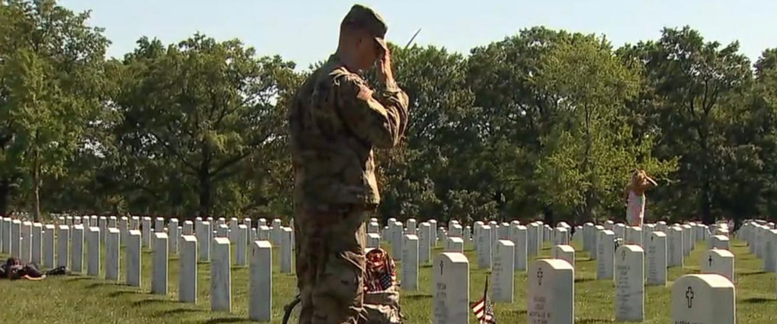 VIDEO: Walking through Arlington National Cemetery's hallowed ground