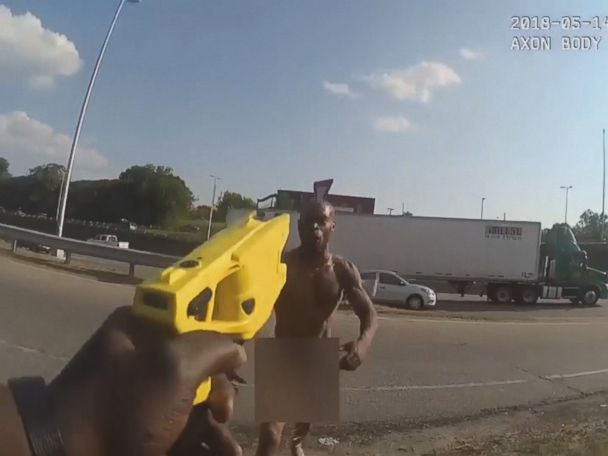 WATCH:  Body camera footage shows police fatally shoot naked man