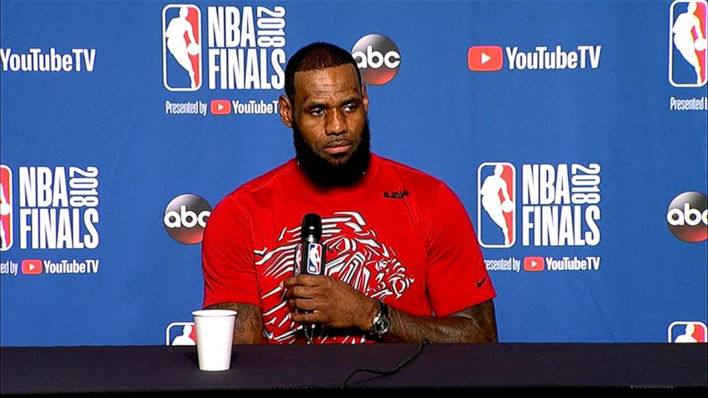 dc22a9c6e34 LeBron James says neither the Cavs nor Warriors will go to the White House