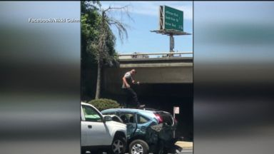 California man arrested after ramming car several times in road-rage attack Video 180607 atm road rage hpMain 16x9 384