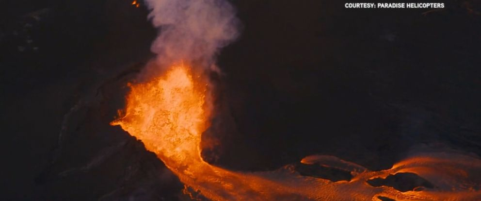 VIDEO: Two new steam explosions rocked the summit of the Kilauea volcano on Hawaiis Big Island Monday morning.