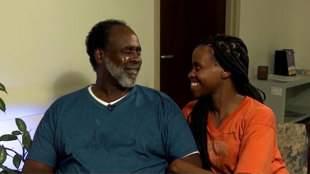 Ronald Corbins daughter, Candice, donated a kidney to her father for Fathers Day.