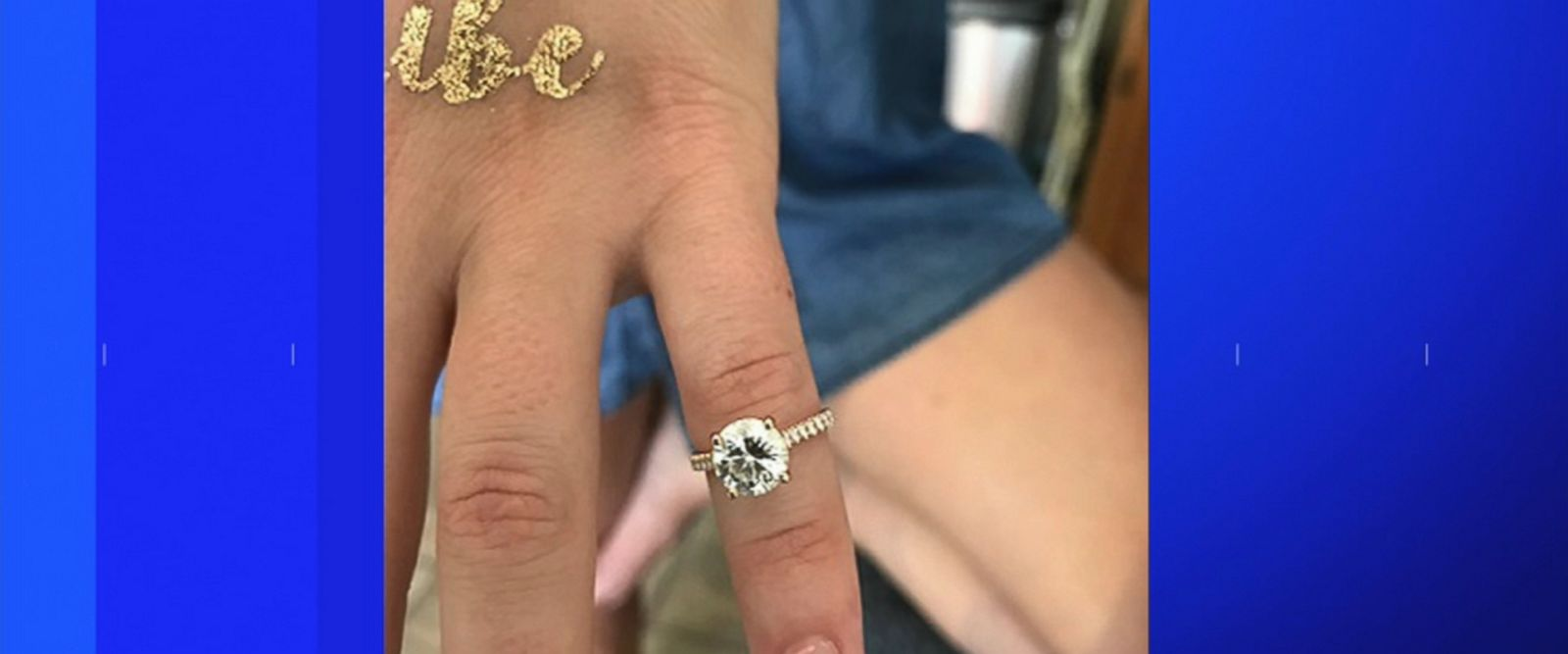 VIDEO: The ring, valued at more than $20,000, was found by a Suffolk County police officer on New York's Fire Island.