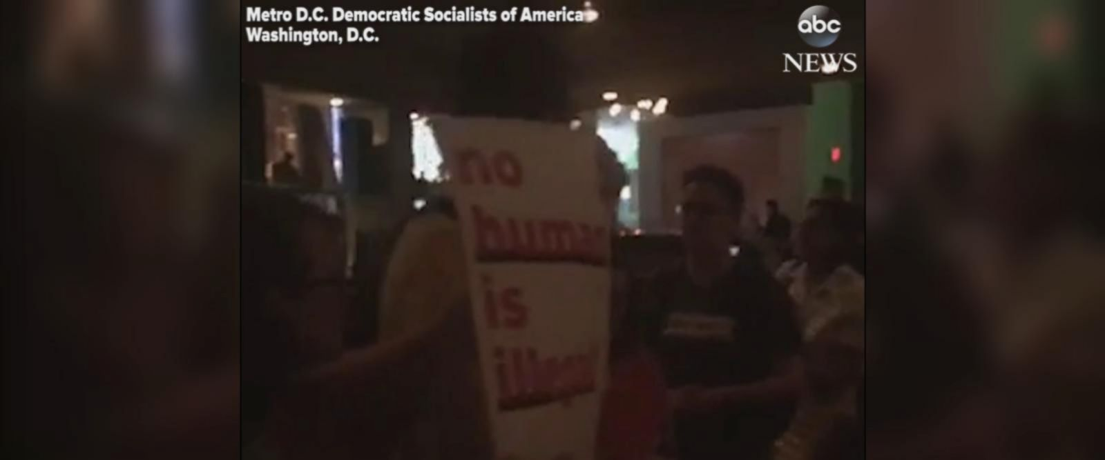 VIDEO: Homeland Security secretary heckled at Mexican restaurant