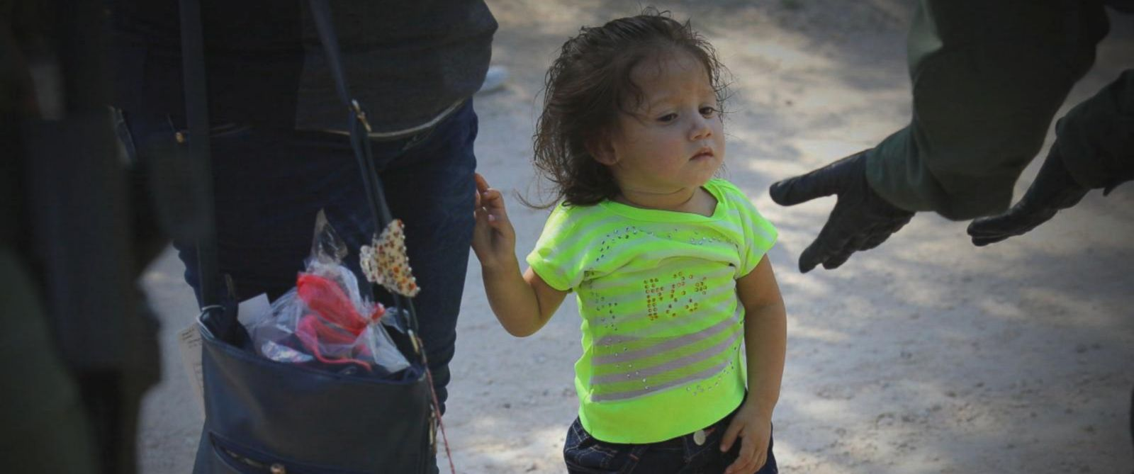 """The youngest children who are separated from their families at the U.S. Mexico border are being held in at least three """"tender age"""" shelters."""