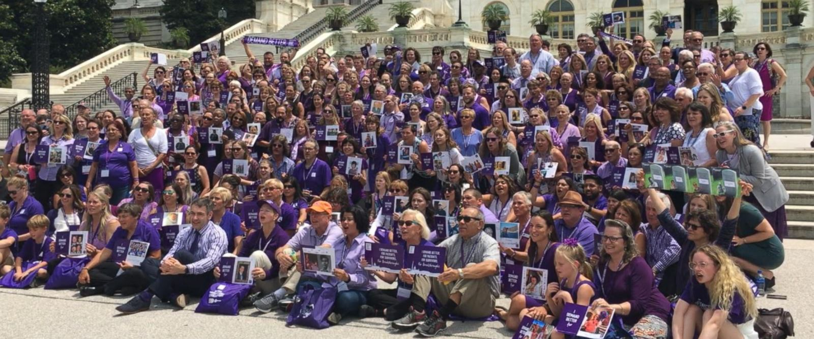 VIDEO: Survivors of Pancreatic Cancer bring fight to Capitol Hill