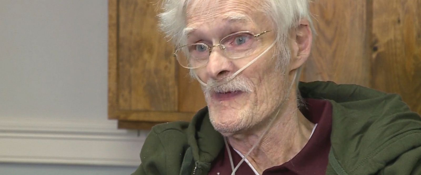 The 75-year-old driver said his heart stopped and doctors had to bring him back to life, according to ABC affiliate WCVB.