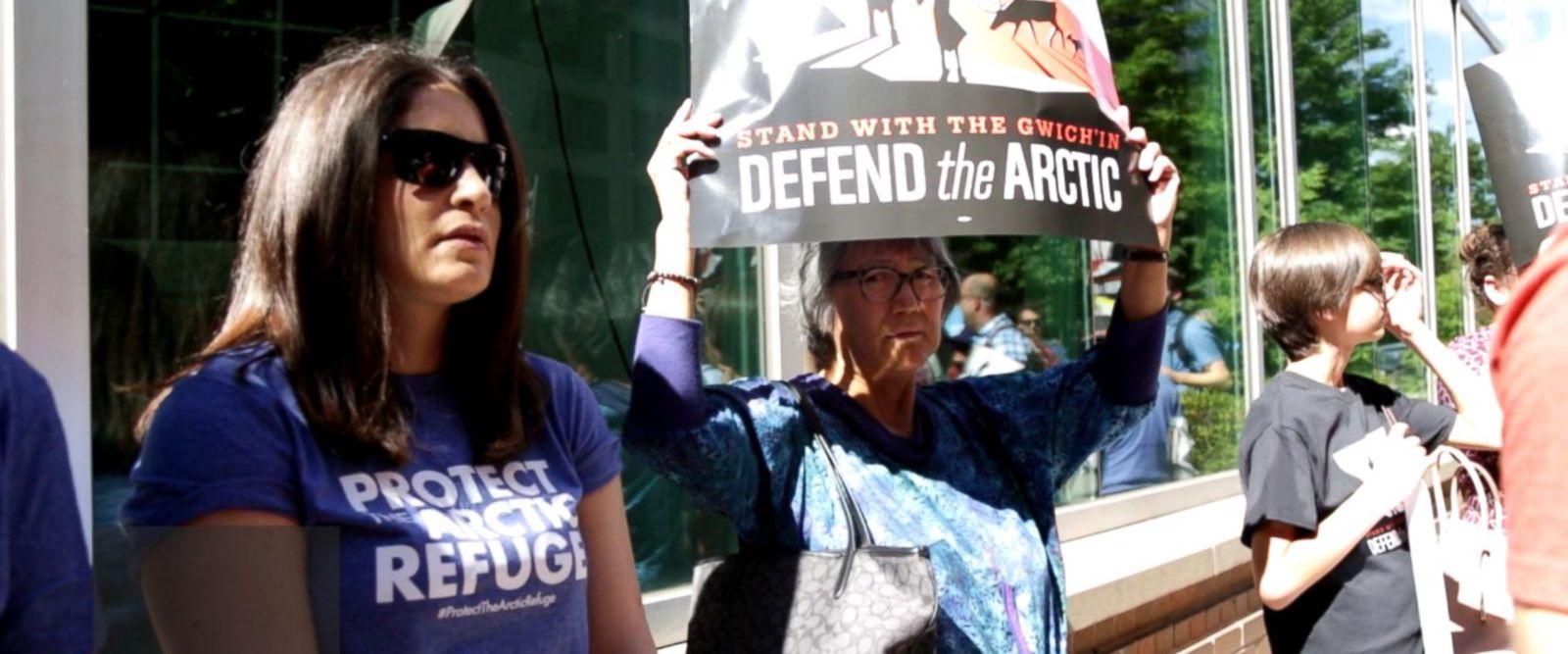 VIDEO: Protests heat up opposing Alaskan Arctic refuge drilling