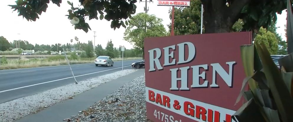 The Red Hen Bar and Grill in Napa is not affiliated with the Red Hen in Lexington, Virginia, that asked the White House press secretary to leave the restaurant.