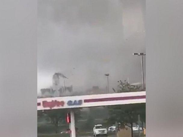 WATCH:  Tornadoes in Iowa cause devastation, several injuries