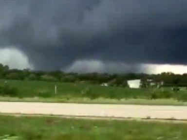 WATCH: Tornadoes tear through Iowa
