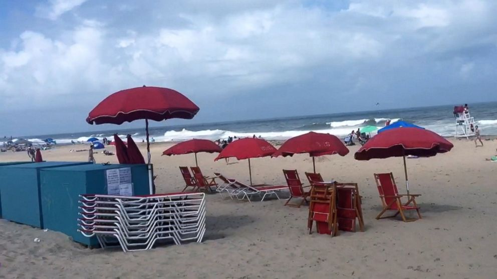 Woman Impaled In Chest By Flying Beach Umbrella