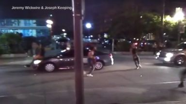 Detroit police officer suspended after video shows him punching naked woman Video 180802 wfaa teens car surfing hpMain 16x9 384