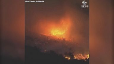 Ohio race too close to call, California wildfire rages on Video 180807 abc insta firenado hpMain 16x9 384