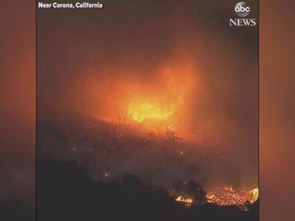 WATCH:  Ferocious 'firenado' swirls amid California wildfire