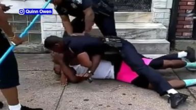 Baltimore officer suspended after caught on video punching man Video 180811 vod baltimore1 hpMain 16x9 384