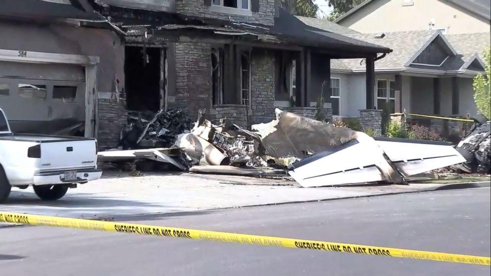 Hours After Domestic Violence Arrest Husband Crashes Stolen Plane