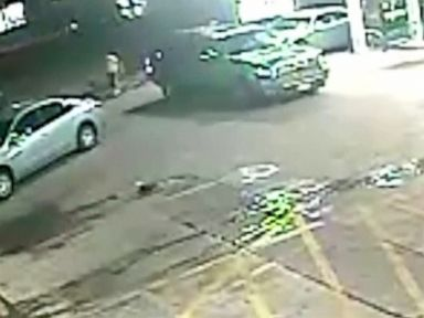 WATCH:  Woman survives being run over by SUV