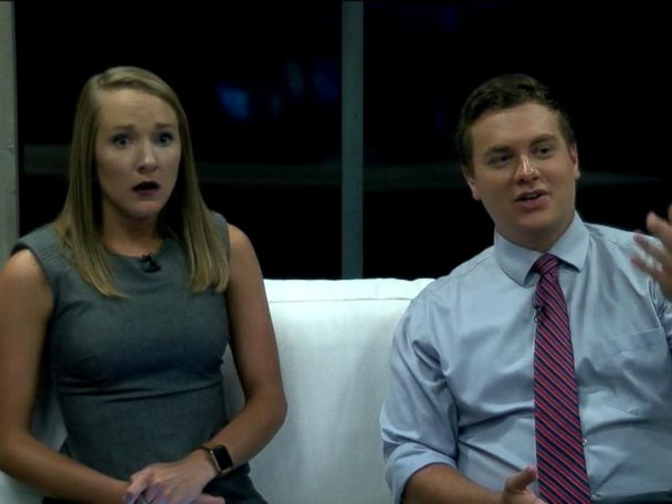 WATCH:  Anchors evacuate TV studio while on air during Hurricane Florence