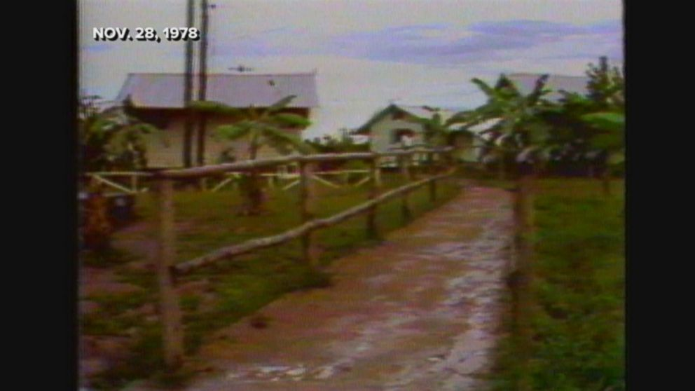 The remains of the Peoples Temple cult victims were transported from the compound in Guyana to Dover Air Force Base.