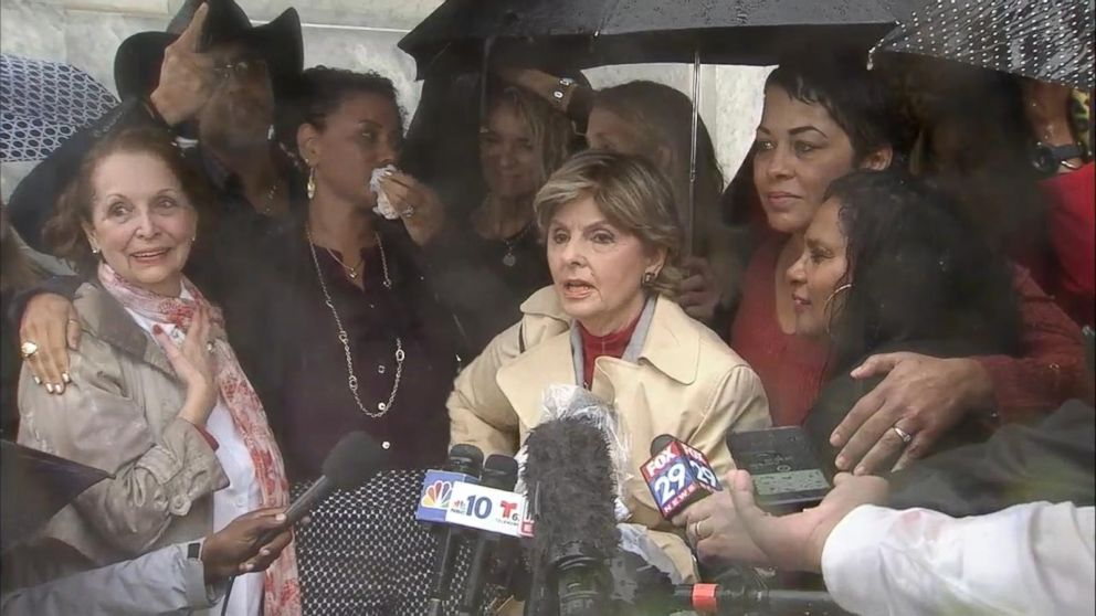 'This is a very important day. Judgment day has come': Gloria Allred reacts to Bill Cosby's sentencing