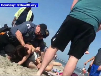 WATCH:  Woman indicted months after beach arrest