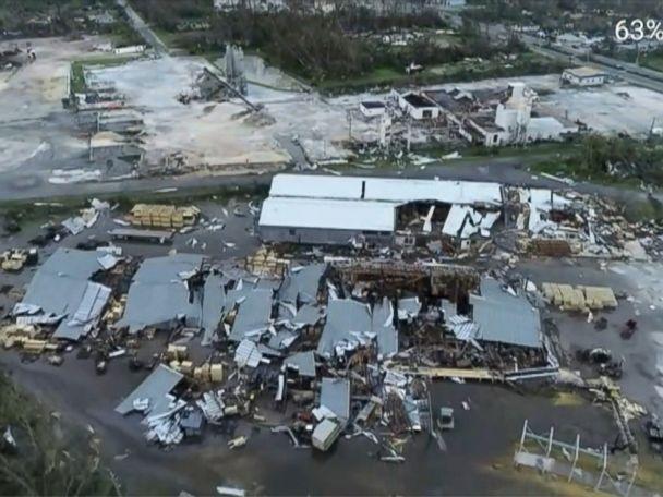 WATCH:  Hurricane Michael: An aerial view of destruction