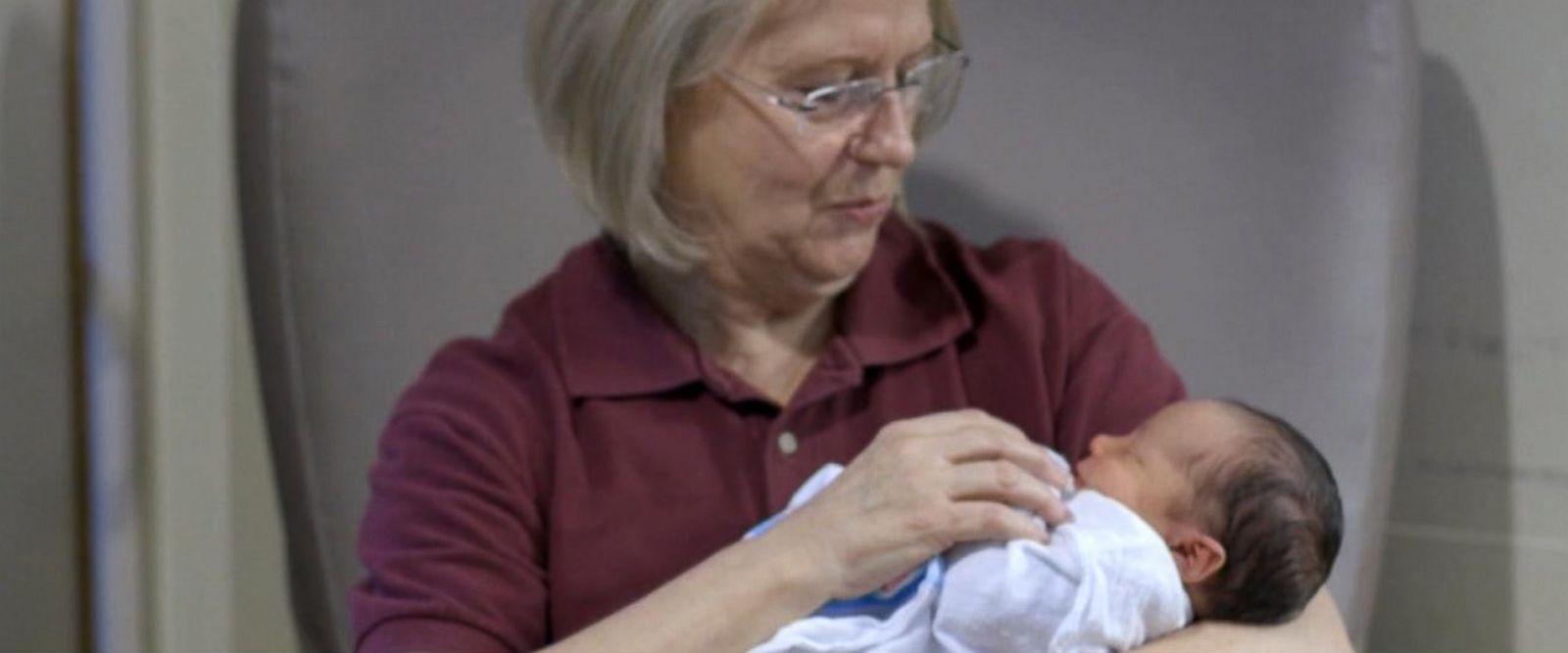 VIDEO: The Big Vote: Volunteers cuddle babies dependent on drugs