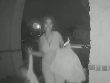 WATCH:  Doorbell cam captures moment toddler is abandoned outside stranger's home