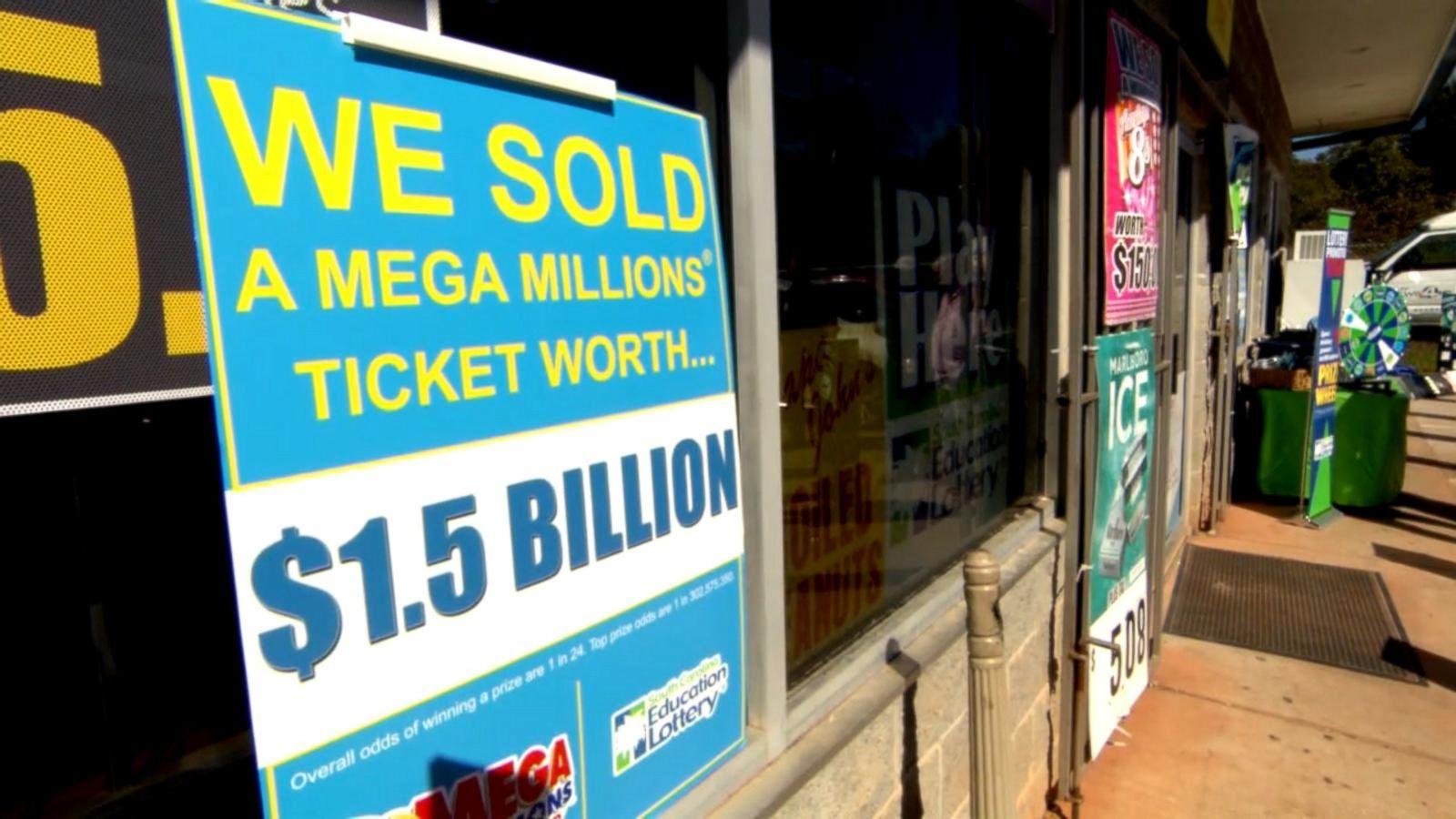 Winning 1.6 billion Mega Millions ticket sold in South Carolina images