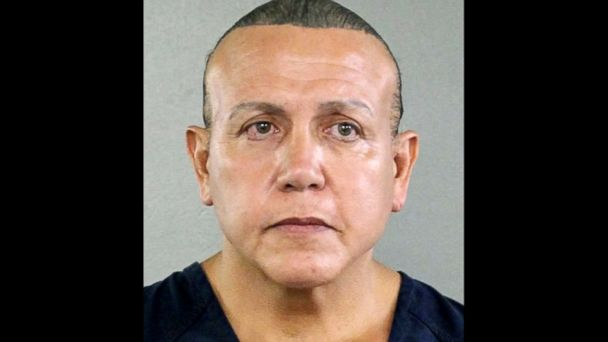 Mail bomb suspect Cesar Sayoc to be transferred to New York for trial