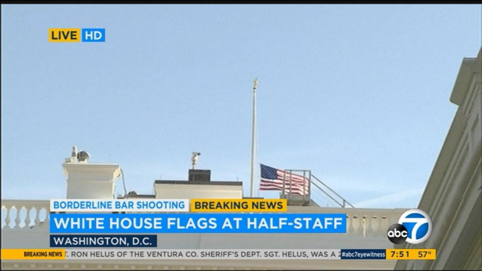 Fantastic White House Flag Lowered To Half Staff To Honor Victims Of Download Free Architecture Designs Scobabritishbridgeorg