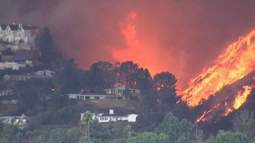This Christmas I Ll Burn It To The Ground.Town In Agoura Hills California Burned To The Ground After Woolsey Wildfire