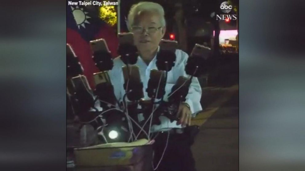 VIDEO: Introduced to the game by his grandson, Chen San Yuan spends over $300 a month playing Pokemon Go in the hopes of meeting more Pokemon-playing pals along the way.