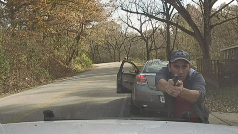VIDEO: The Washington County Sheriffs Office said the Corporal Brett Thompson attempted to stop the driver of a green Saturn for a traffic violation, but the driver refused to pull over.