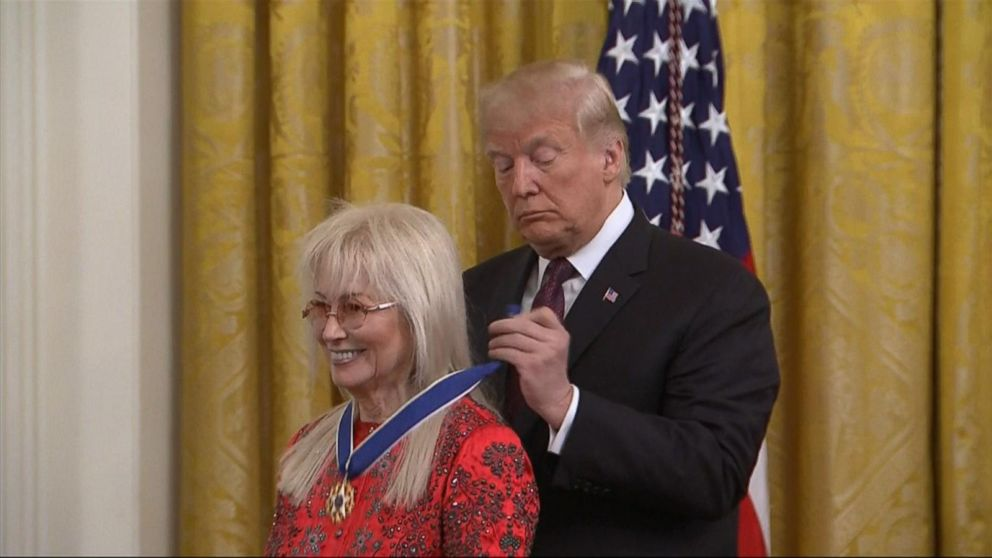 Trump awards Presidential Meda...