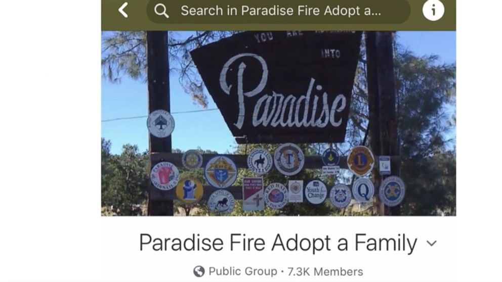 VIDEO: A California couple started the Facebook group after reaching out to help a fire victim via the social media platform.