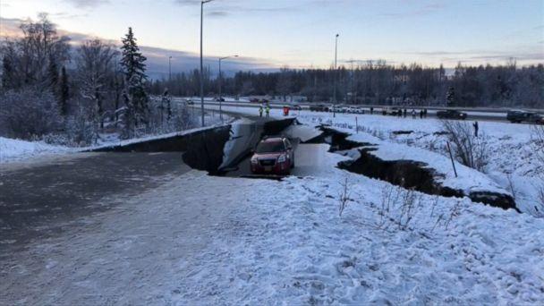 SPECIAL REPORT: Large earthquake rocks Alaska