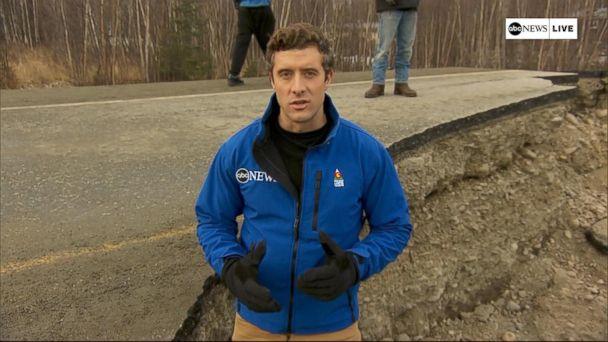 Massive earthquake rocks Alaska