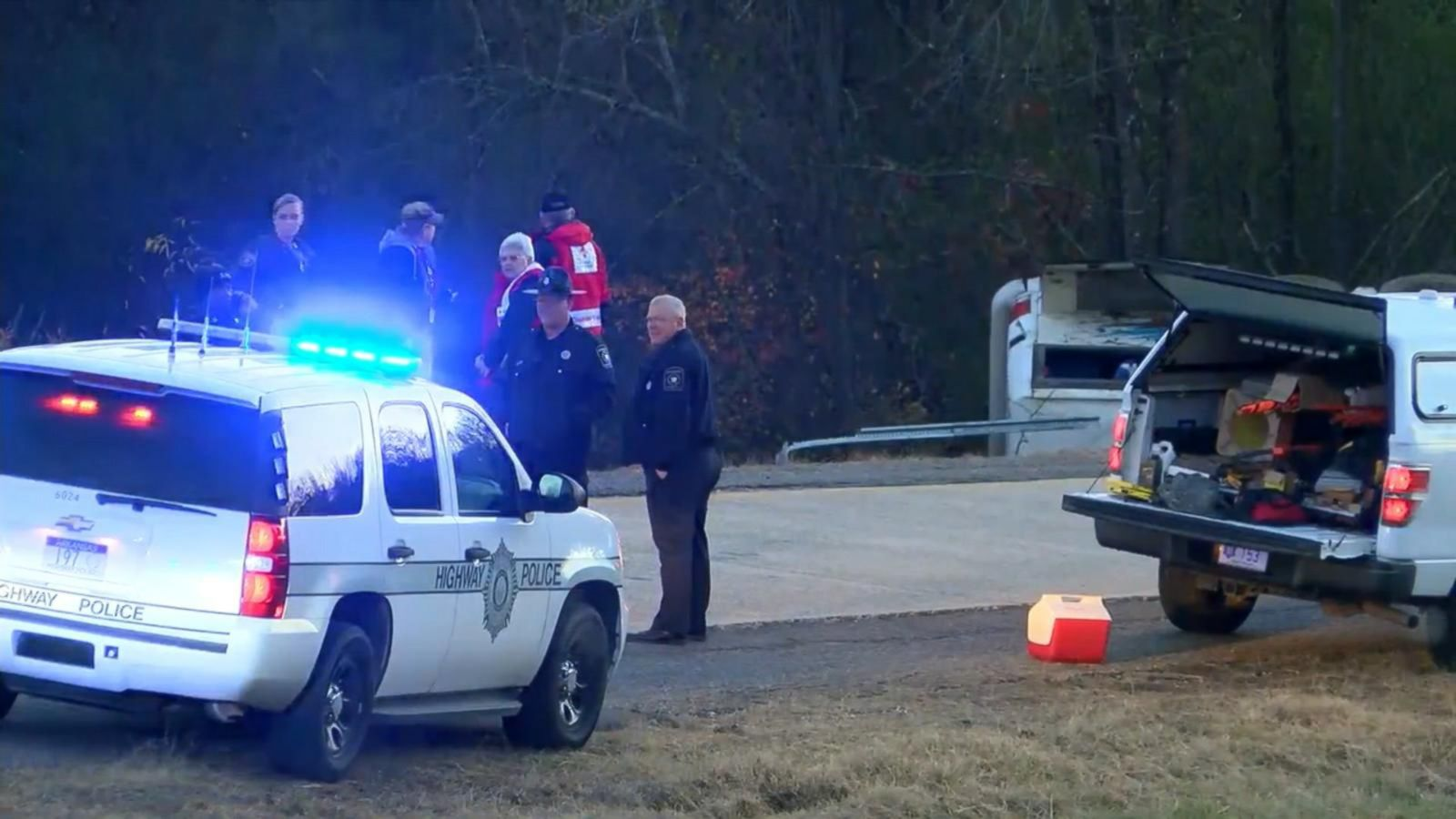 1 child killed, at least 45 injured when charter bus carrying youth