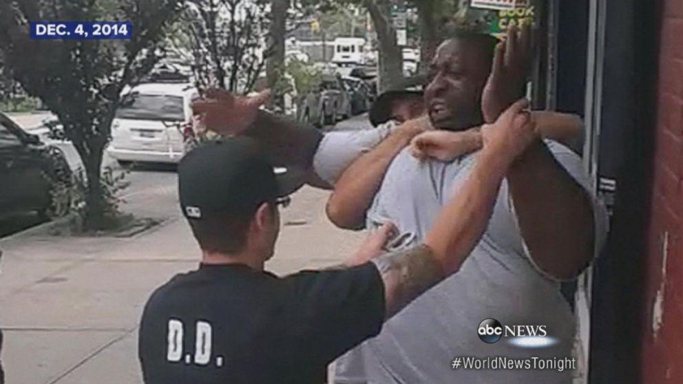 Protests erupt after jury decides Eric Garner case.
